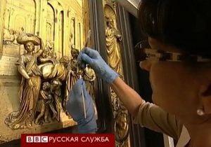 Флорентийские Врата рая восстановили через 27 лет