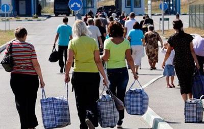 За сутки из Донбасса выехали 2,5 тысячи жителей