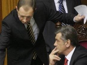 Ющенко считает Яценюка своим преемником - Кириленко