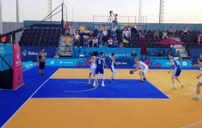 Украинские баскетболистки - в полуфинале Европейских игр