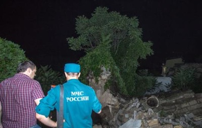 В Керчи рухнула часть знаменитой Митридатской лестницы