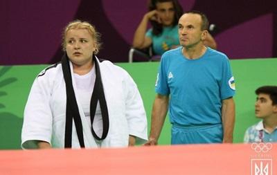 Украинская дзюдоистка Яремка выиграла  бронзу  Европейских игр
