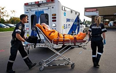 В результате ДТП в Канаде пострадали 38 человек