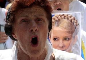 Тимошенко поздравила украинцев с Днем Независимости и призвала к борьбе