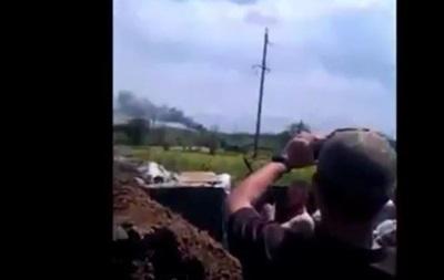 Бойцы показали видео вчерашнего боя в Широкино