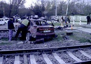 В Симферополе гаишники спасли от самосуда пьяного водителя, сбившего насмерть трех человек