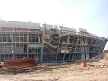 Евро-2012: Поляки сетуют на нехватку гостиниц и восхищены донецким стадионом