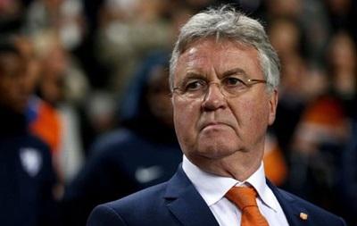 Официально: Хиддинк покидает сборную Голландии