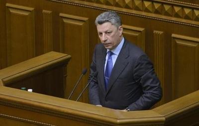 Оппозиционный блок призвал немедленно принять законы по минским соглашениям