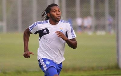 Динамо: Мбокани будет тренироваться с командой