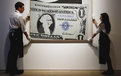 Картину Уорхола продали за рекордные 33 миллиона долларов