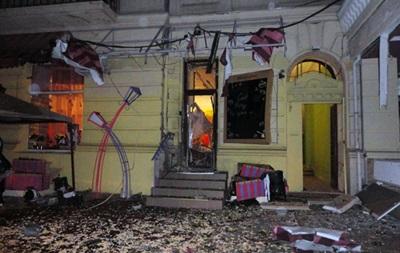 Саакашвили зовет одесситов на чай во взорванный ресторан