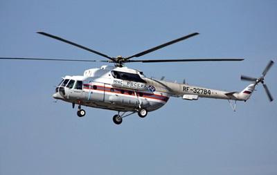 В России пропал вертолет с людьми на борту