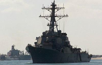 Американский эсминец войдет в Черное море