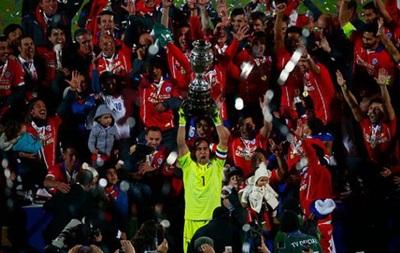 Чили выигрывает Кубок Америки