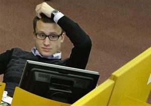 Индекс Украинской биржи начал снижение
