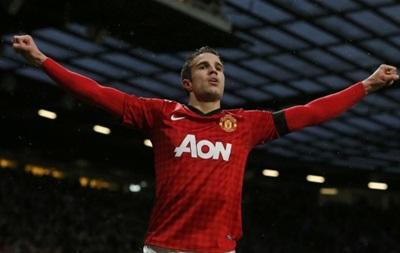 Робин ван Перси возобновит тренировки с Манчестер Юнайтед