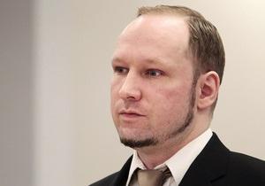 Брейвик отказывается отвечать на многие вопросы прокурора