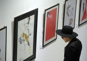 Фотогалерея: Модная иллюстрация. В Киеве открылась выставка знаменитого fashion-художника