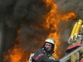 Киевские пожарные спасли бездомного