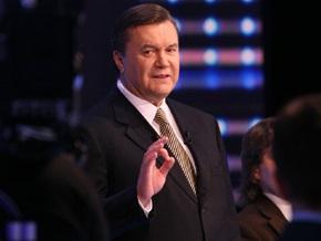 Янукович о Богословской