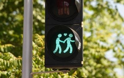 В Мюнхене появились светофоры для геев