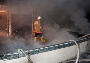Я-Корреспондент: Пожар в киевском ресторане Аура. Фоторепортаж