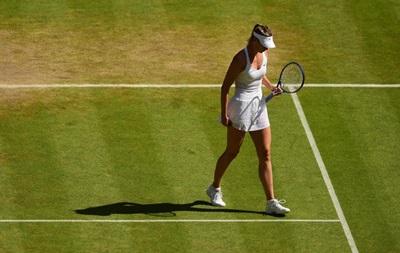 Шарапова не сумела обыграть Серену Уильямс в полуфинале Уимблдона