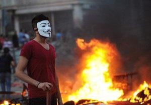 Anonymous взломали сайт президента Турции