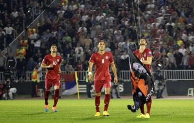 CAS присудил Сербии техническое поражение в матче с Албанией