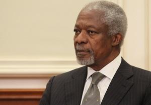 Аннан покидает пост спецпредставителя ООН и ЛАГ по Сирии