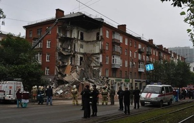 При обрушении дома в российской Перми погиб человек