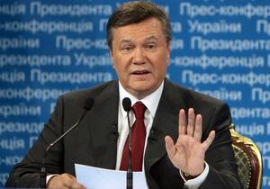 Янукович отреагировал на приговор Тимошенко