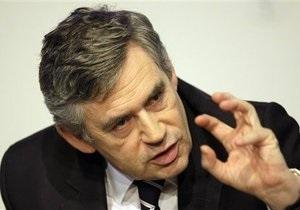 Браун и Саркози призвали реформировать мировую финансовую систему