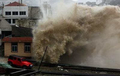 Тайфун Чан-хом обрушился на побережье Китая