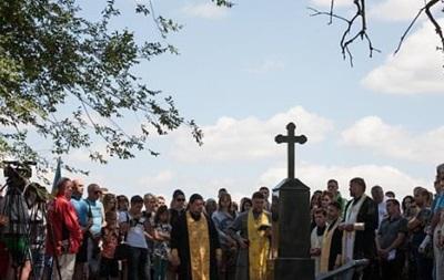 На месте гибели Кузьмы Скрябина установили памятник