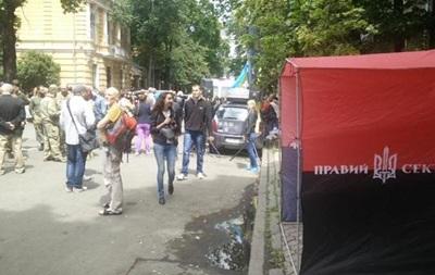 Правый сектор собирает на выходные вече на Майдане