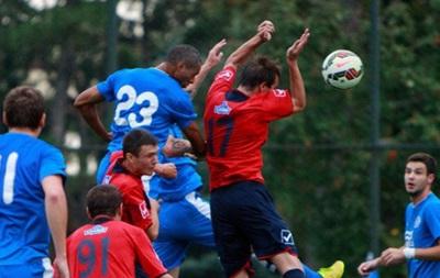 Днепр и Брюгге забили семь голов в товарищеском матче