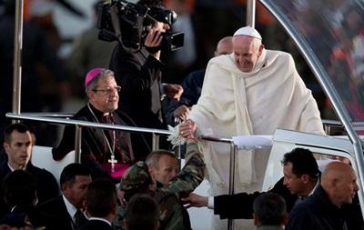 Папа Римский Франциск: я не жевал коку в Боливии