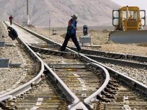 Из-за проливных дождей в Дагестане сошел с рельсов поезд