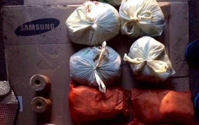 На Донетчине задержан диверсант с 50 килограммами взрывчатки