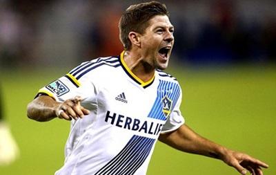 Джеррард забил свой первый гол в MLS