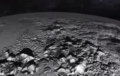 NASA опубликовала видео поверхности Плутона