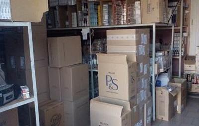 На Закарпатье нашли целые склады контрафактных сигарет