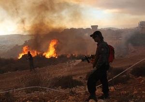 Нетаньяху назвал пожар под Хайфой одним из самых крупных в истории страны