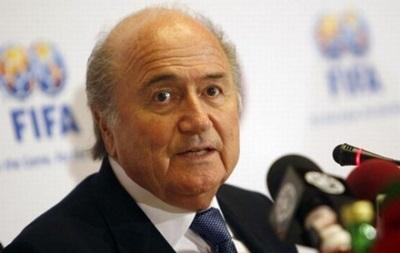 Блаттер не будет баллотироваться на пост президента FIFA