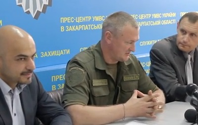 Найем приехал в Закарпатье курировать новую полицию