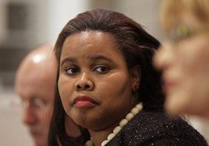 Впервые оппозицию в ЮАР возглавила чернокожая женщина