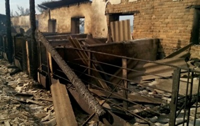 В Кировоградской области при пожаре на ферме погибли более ста свиней