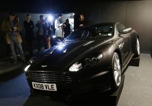 Aston Martin Джеймса Бонда из Кванта милосердия продали за $390 тысяч
